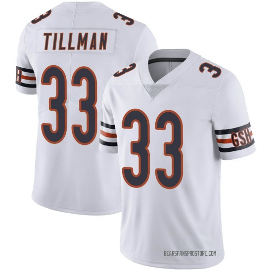 Charles Tillman Chicago Bears Youth Limited Vapor Untouchable Jersey - White
